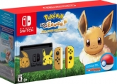 CONSOLA NINTENDO SWITCH POKEMON EVEE! + BALL