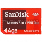 Memory Stick Pro Duo Sandisk 4GB